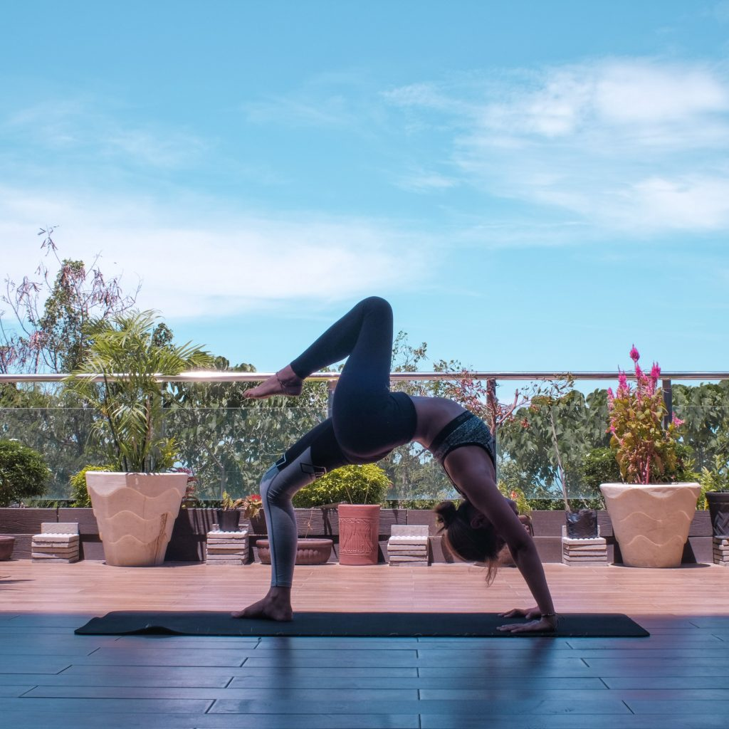 wheel pose yoga for when you feel stuck