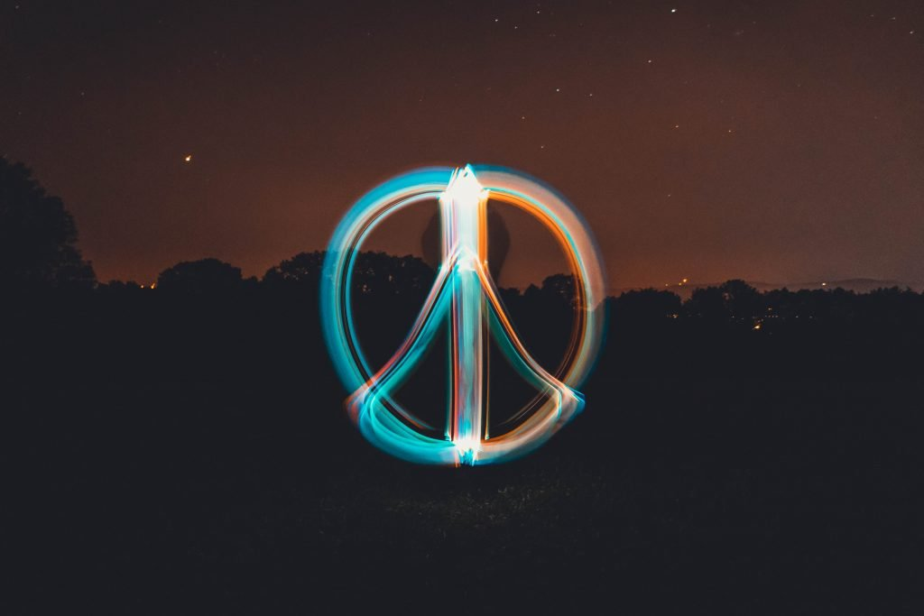 peace sign empaths are peace keepers