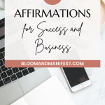 affirmations for business and success